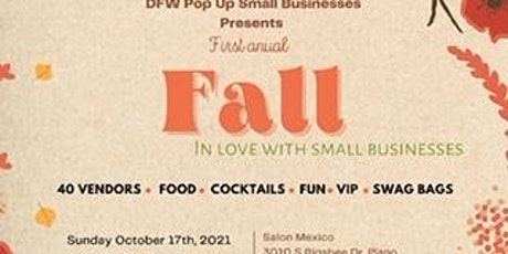 Fall in Love With small Businesses tickets