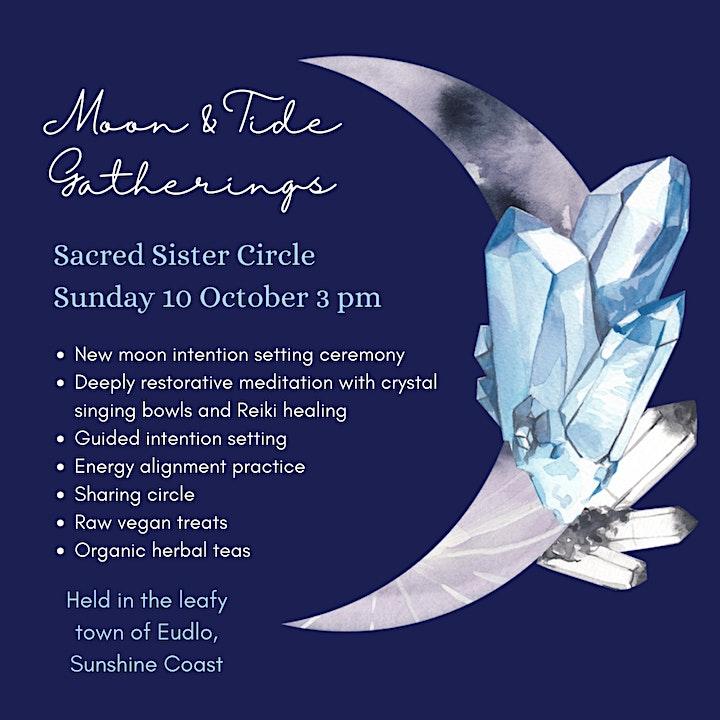 Sacred Sister Circle - New Moon Circle image