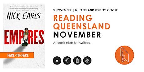 Reading Queensland Book Club - November tickets