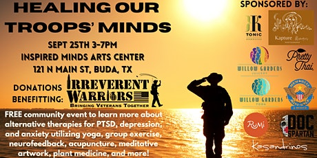 Healing our Troops' Minds tickets