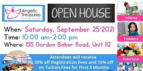 Daycare Open House tickets