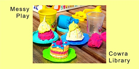 Messy Play with Play-Doh - School Holidays at Cowra Library tickets