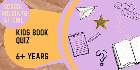 Kids Book Quiz (ONLINE) @ Orange Library tickets