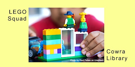 LEGO Squad - School Holidays at Cowra Library tickets