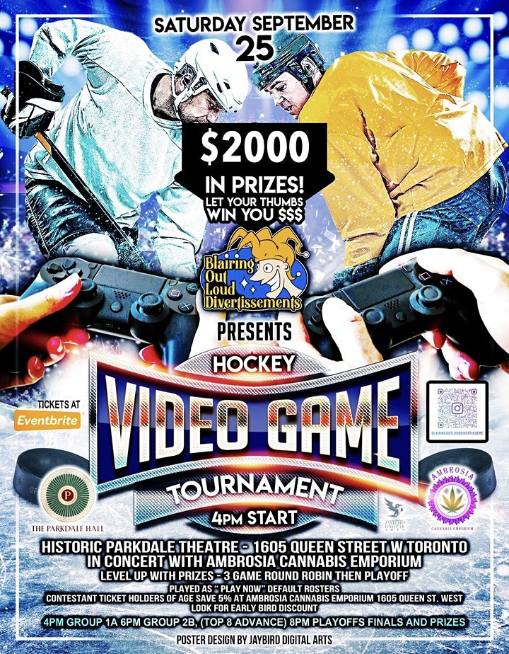 Parkdale Hall Hockey Video Game Tournament image