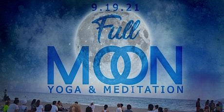 Full Moon Yoga on the Beach - Kundalini kriya & Meditation Sept 19th tickets