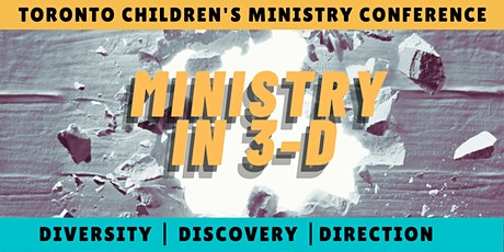 Toronto Children's Ministry Conference 2021 tickets