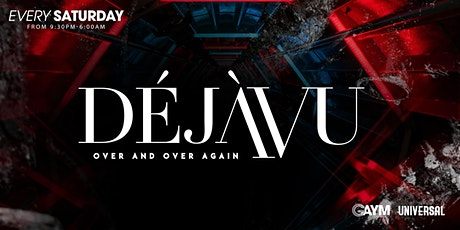 DejaVu Saturdays - 9th October tickets