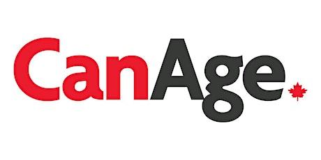 Seniors' Advocacy with CanAge and the V-O-I-C-E-S Program tickets
