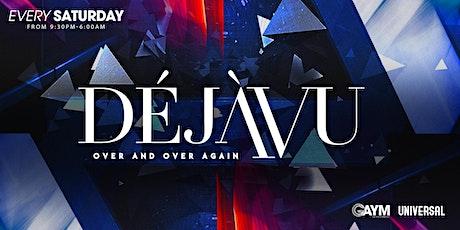 DejaVu Saturdays - 16th October tickets