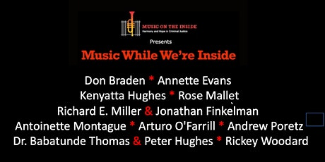 Music While We're Inside Free Concert on Sunday, September 19th, 2021 tickets