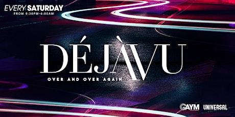 DejaVu Saturdays - 23rd October tickets