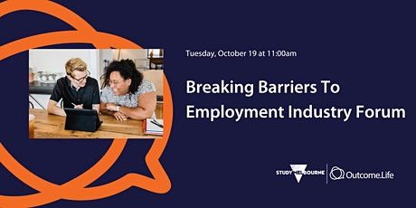 Breaking Barriers To Employment Industry Forum tickets