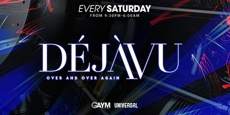 DejaVu Saturdays - 30th October tickets