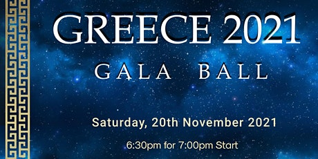 "Greece 2021- ""Gala Ball"" tickets"