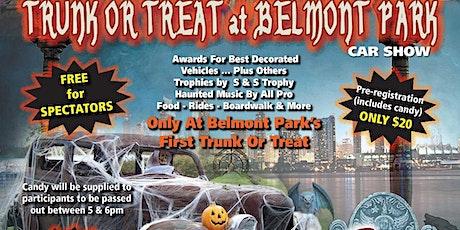Trunk Or Treat At Belmont Park Car Show boletos