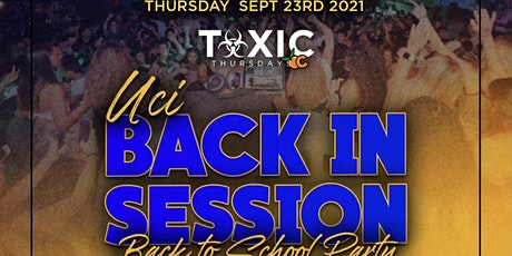 COLLEGE THURSDAYS OC @ BLEU OC 18+/ UC IRVINE - BACK IN SESSION PARTY tickets