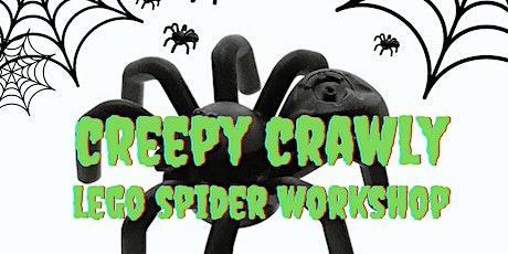 Creepy Crawly Lego Spider Workshop tickets