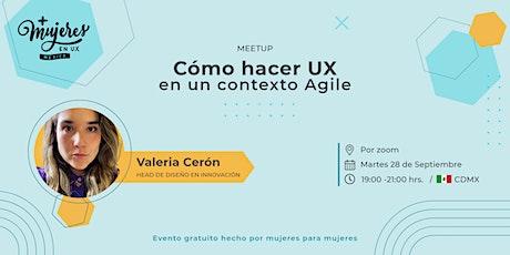 +Mujeres en UX México Reunión Virtual  Septiembre 2021 entradas