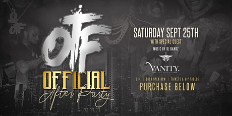 OTF OFFICIAL AFTER PARTY tickets