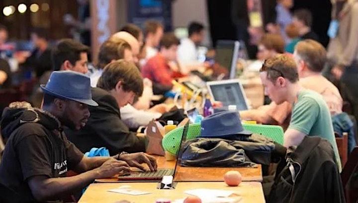 Sticky Startup Day Party image