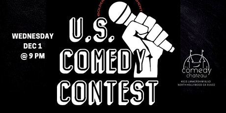 U.S. Comedy Contest at the Comedy Chateau (12/1) tickets