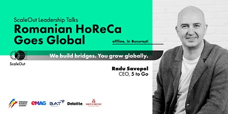 5 to go:model de scalare:Romanian HoReCa Goes Global - Meetup tickets
