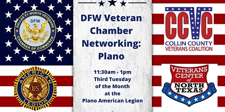 Networking with DFW Veterans Chamber & Collin County Veterans Coalition tickets