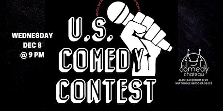 U.S. Comedy Contest at the Comedy Chateau (12/8) tickets
