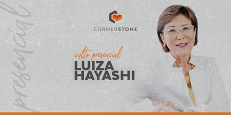 Culto com Luiza Hayashi ingressos
