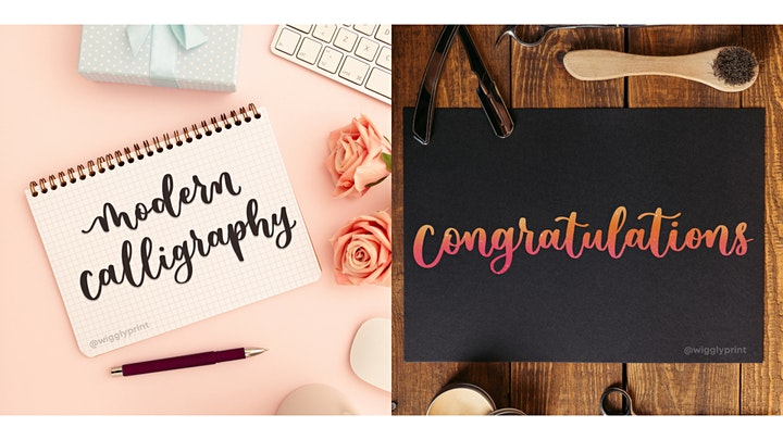 3-Hour Modern Calligraphy Class image