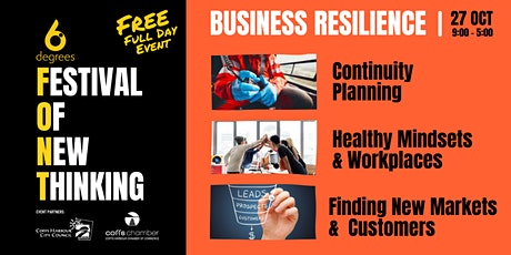 Business Resilience - Health Mindsets + Workplaces tickets