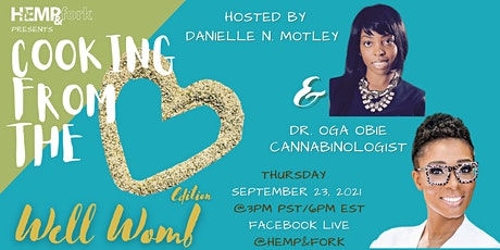 Cooking from the Heart: Well Womb edition (a virtual cooking show) tickets