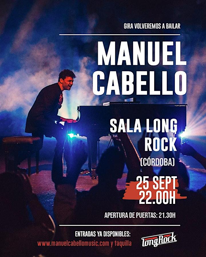 Imagen de Manuel Cabello en concierto