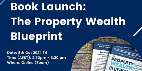 Book Launch: The Property Wealth Blueprint tickets