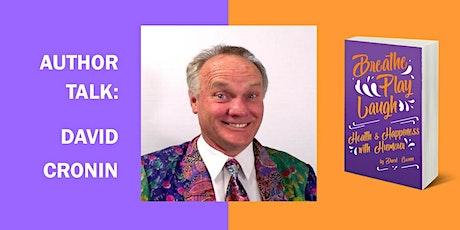 David Cronin Author Talk: Breathe Play Laugh tickets