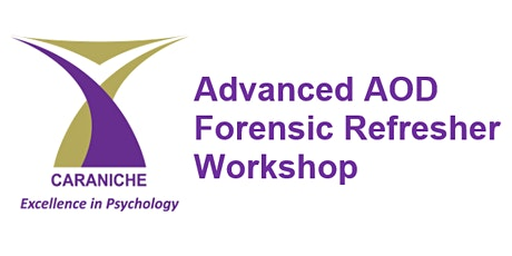 Advanced AOD Forensic Refresher (2hr) Workshop - September tickets