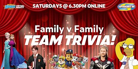 LOCKDOWN Family Trivia Challenge - FAMILY v FAMILY tickets