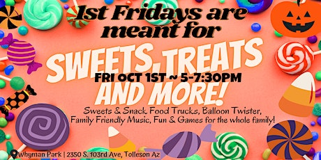 1st Fridays | Sweets Fest PopUP Party: Oct 1st tickets