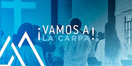 Reunión La Carpa - 09:00 hrs. boletos