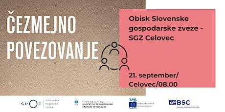 Čezmejno povezovanje: Slovenska gospodarska zveza - SGZ Celovec tickets