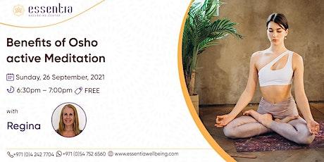 Free Talk: Benefits of Osho active Meditation with Regina tickets
