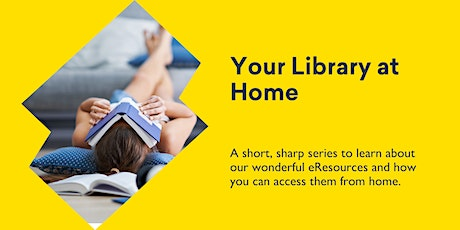 eBooks/Audio books/eMagazines - Your Library at Home @ Kingston Library tickets