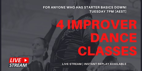 [OCTOBER] Join the Adult Improver Dance Class! [ZOOM LIVE] tickets