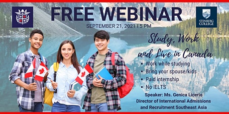 Free Webinar featuring Stenberg College - Canada tickets