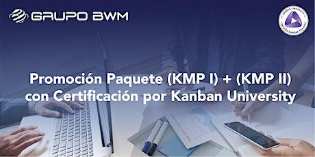 Promoción - Team Kanban Practitioner® (TKP I) y (TKP II) entradas