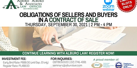 Obligations of Sellers and Buyers in a Contract of Sale tickets