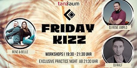 Friday Kizz Exclusive Practice Night 2 Workshops mit René & Belle Tickets