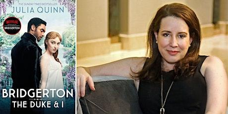 Bridgerton: Julia Quinn in conversation with Sheila O'Flanagan tickets