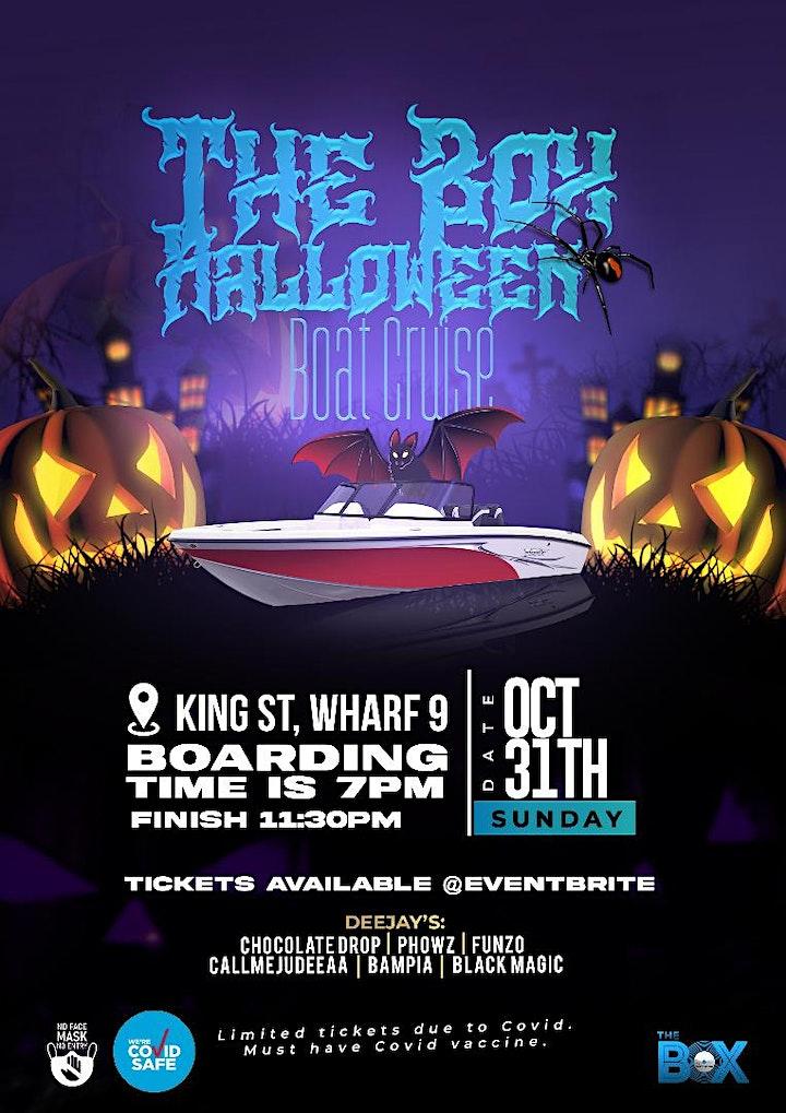 Halloween Boat Cruise image